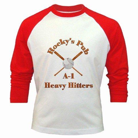 Baseball Jersey Custom Sports Team Uniform Large Red White Customize Personalize Logo