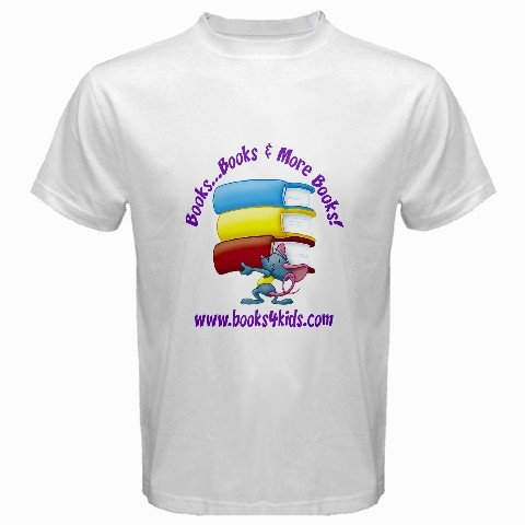 Custom White T-Shirt Large Customize Personalize Business Logo #CT