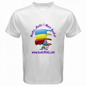 Custom White T-Shirt Large Customize Personalize Business Logo #CT