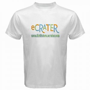 Custom White T-Shirt XXL 2XL 2X Customize Personalize Business Logo #CT