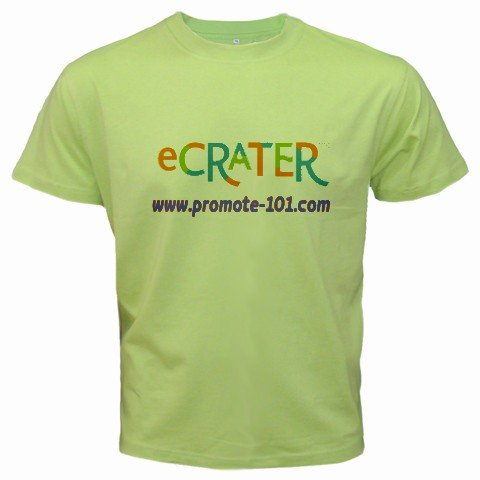Custom Kiwi Green T-Shirt Small Customize Personalize Business Logo #CT