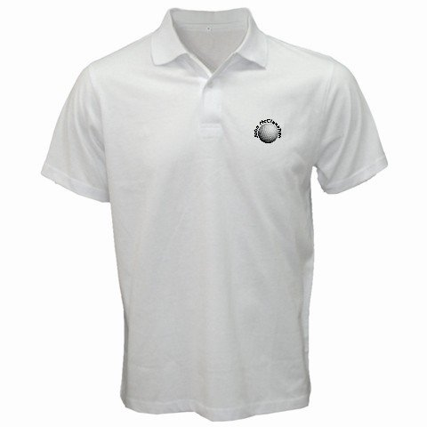 Custom Golf Polo Shirt Medium Customize Personalize Business Logo