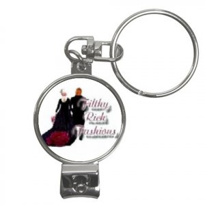 Custom Nail Clippers Key Chain Customize Promotional Item Personalize It