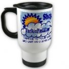 Custom Travel Mug White Customize Promotional Item Personalize It