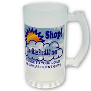 Custom FROSTED Mug Customize Promotional Item Personalize It #CT