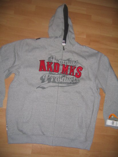 NWT AKADEMIKS TRACK SUIT 3XL GREY $200+ retail
