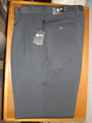 Asantoni Pleated And Cuffed Dress Pants W34 L32