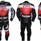 Custom made Honda Leather Motorbike Racing Suit With Protection