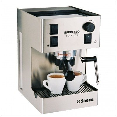 Factory Refurbished Saeco Classico Stainless Steel Espresso Machine Maker