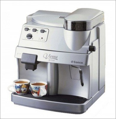 Factory Refurbished Saeco Vienna Deluxe Rapid Steam Espresso Machine - FREE SHIPPING SPECIAL
