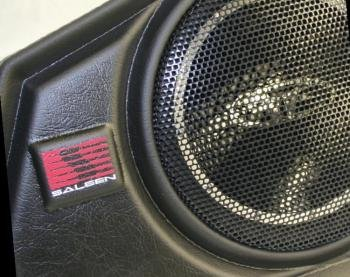 SALEEN ROCKFORD FOSGATE '05-'08 FORD MUSTANG SUBWOOFER FREE SHIPPING!