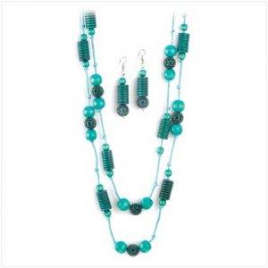 Azure Fantasy Jewelry Set