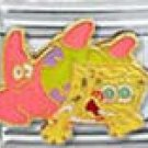 Free Shipping: Spongebob and Patrick Enamel Italian 9mm Charm