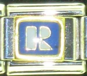 Free Shipping: Realtor Logo Enamel Italian 9mm Charm (Real Estate Agent)