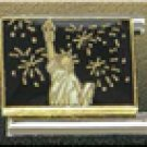 Free Shipping: Statue of Liberty Firework Background Italian 9mm Charm