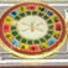 Free Shipping: Las Vegas  Roulette Wheel Enamel Italian Charm 9mm (Casino)