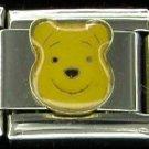 Free Shipping: Disney Winnie the Pooh Enamel Italian Charm 9mm
