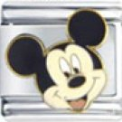 Free Shipping: Disney's Mickey Mouse Enamel Italian Charm 9mm