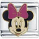 Free Shipping: Disney's Minnie Mouse Enamel Italian Charm 9mm