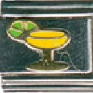 Free Shipping: Margarita Glass Italian Charm 9mm