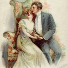 Vintage Couple Postcard (circa 1900's)