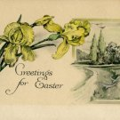 Greetings from Easter Vintage Postcard (circa early 1900s)