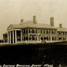 Col. Gastsons Mansion, Barre Mass. Vintage Postcard (circa 1913)