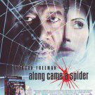Along Came A Spider - Morgan Freeman rare vintage advert 1993