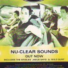 Ash - Nu-Clear Sounds rare vintage advert 1998