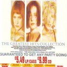 Bananarama - Greatest Hits rare vintage advert 1988