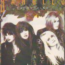 The Bangles - Everything rare vintage advert 1988