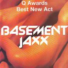 Basement Jaxx - Remedy Q Awards rare vintage advert 1999