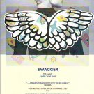 The Blue Aeroplanes - Swagger - rare vintage advert 1990