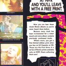 David Bowie - Remasters - rare vintage advert