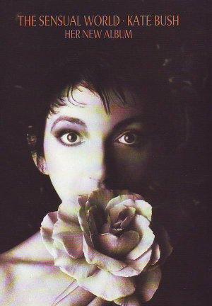 Kate Bush - The Sensual World - rare vintage advert 1989
