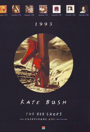 Kate Bush - The Red Shoes - rare vintage advert 1993