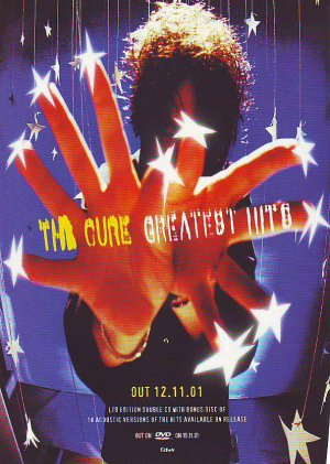 The Cure - Greatest Hits - rare vintage advert 2001