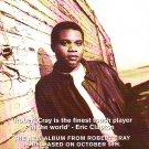 Robert Cray - Shame + And Sin - rare vintage advert 1993