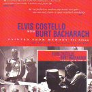 Elvis Costello / Burt Bacharach - Painted From memory - rare vintage advert 1998