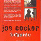 Joe Cocker - Organic - rare vintage advert 1996