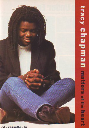 Tracy Chapman - Matters Of The Heart - rare vintage advert 1992