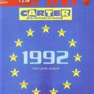 Carter - 1992 The Love Album - rare vintage advert 1992