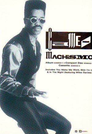 Cameo - Machismo - rare vintage advert 1988