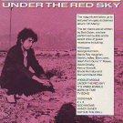 Bob Dylan - Under The Red Sky - rare vintage advert 1990