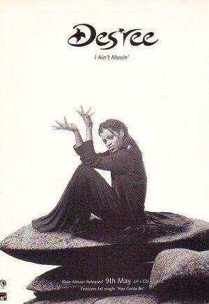Des'ree - I Ain't Movin' - rare vintage advert 1994
