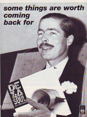 De La Soul - Is Dead - rare vintage advert 1991