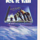 Del Amitri - Hatful Of Rain - rare vintage advert 1998