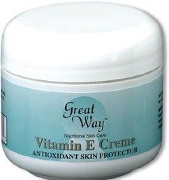 Vitamin E Creme-4 oz    (#1064)