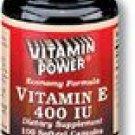 Vitamin E - 400-250 Ct  (#338U)