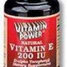 Natural Vitamin E - 200 IU--250 Ct (#502U)